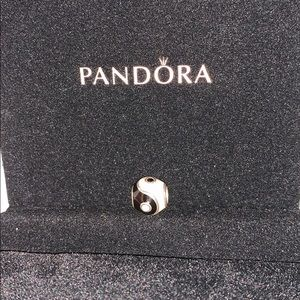 Ying Yang authentic discontinued pandora charm